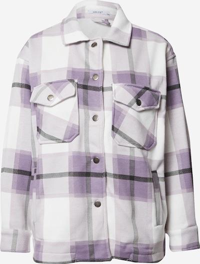 Hailys Jacke in lavendel / schwarz / weiß, Produktansicht