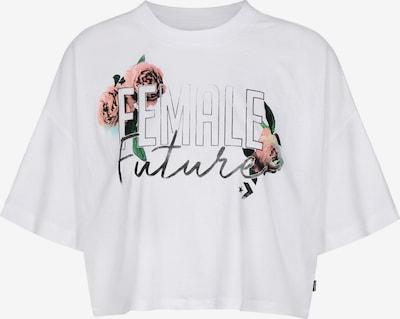 CONVERSE Shirt in grün / pink / schwarz / weiß, Produktansicht