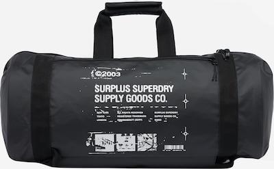 Superdry Tasche in schwarz / weiß, Produktansicht