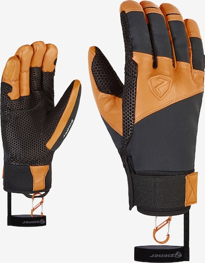 ZIENER Skitourenhandschuhe 'GAVANUS AS(R)' in schwarz, Produktansicht
