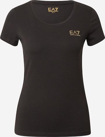 EA7 Emporio Armani T-Shirt in Schwarz