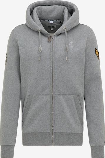 DreiMaster Maritim Tepláková bunda - sivá, Produkt