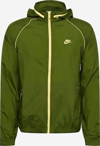 Veste mi-saison Nike Sportswear en vert