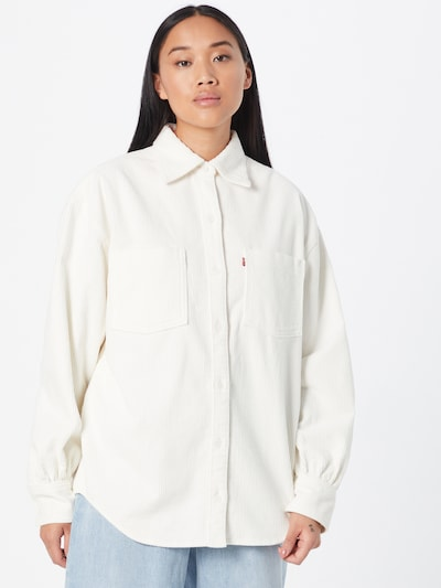 LEVI'S Bluse 'REMI' in weiß, Modelansicht