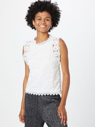 Bluză 'Kleo' Hailys pe alb murdar, Vizualizare model