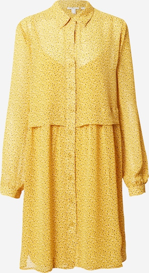 EDC BY ESPRIT Kleid in braun / gelb / weiß, Produktansicht