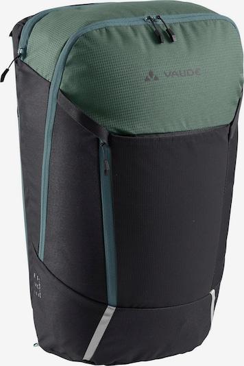 VAUDE Fahrradrucksack 'Cycle ' in anthrazit / grün / petrol, Produktansicht