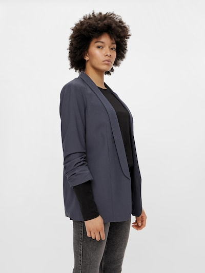 PIECES Blazer in Smoke blue, View model