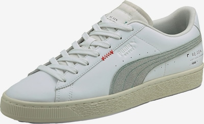 PUMA Sneaker 'Basket Classic' in silber / weiß, Produktansicht