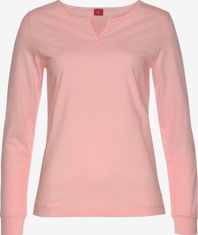 s.Oliver Schlafshirt in rosa, Produktansicht