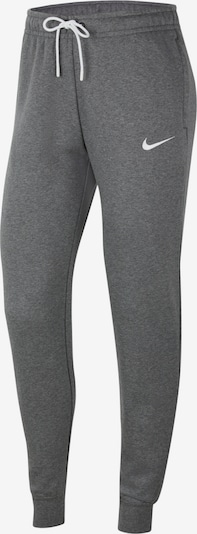 NIKE Workout Pants in Grey / White, Item view