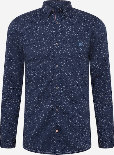 JACK & JONES Overhemd in de kleur Navy / Wit, Productweergave