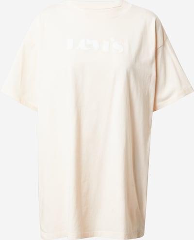 Tricou LEVI'S pe crem / alb, Vizualizare produs