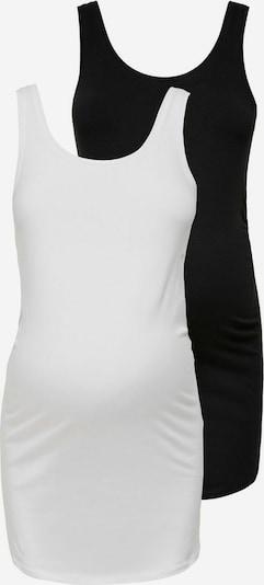 Only Maternity Top in schwarz / weiß, Produktansicht