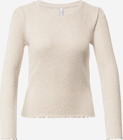 Hailys Jersey 'Lua' en beige, Vista del producto