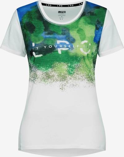 LPO T-Shirt 'Giulia' in mischfarben / weiß, Produktansicht
