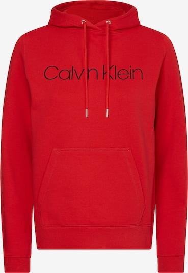 Calvin Klein Sweatshirt in feuerrot / schwarz, Produktansicht