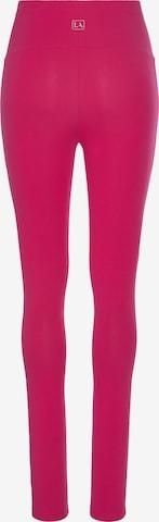 Leggings LASCANA en rose