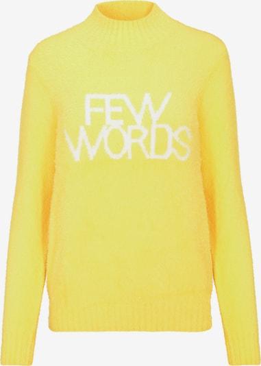 BASEFIELD Pullover in gelb / weiß, Produktansicht