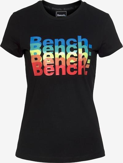 BENCH Funktionsshirt in blau / gelb / grün / orange / rot / schwarz, Produktansicht