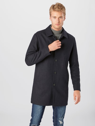 SELECTED HOMME Between-seasons coat 'JAMES' in navy, View model