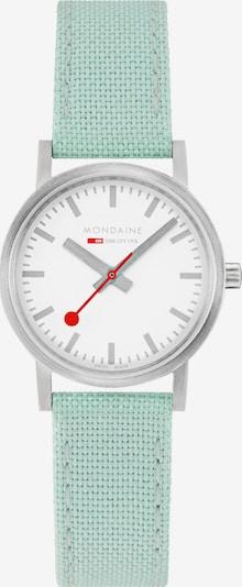 Mondaine Damen-Uhren Analog Quarz ' ' in mint, Produktansicht