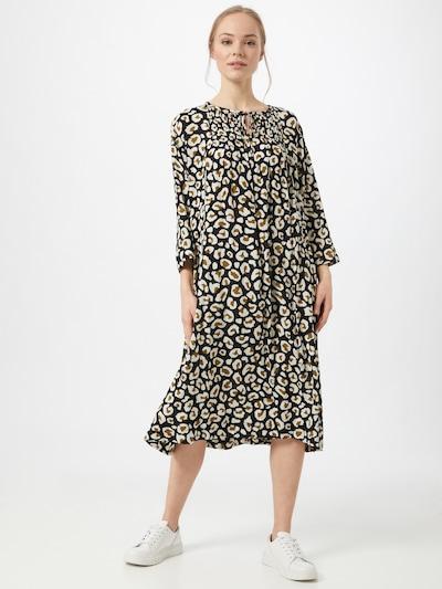 Masai Kleid 'Norise' in grün / schwarz / weiß, Modelansicht