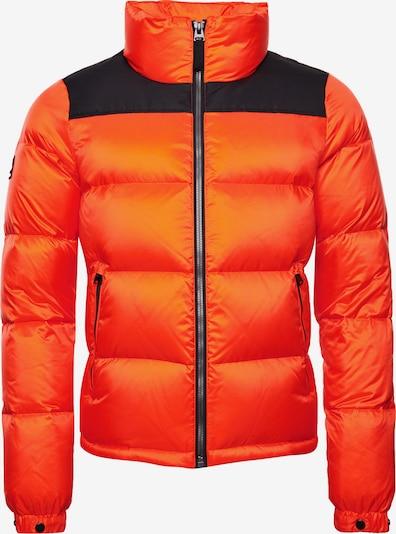 Superdry Winterjacke in orange / schwarz, Produktansicht
