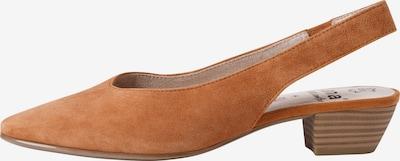 JANA Slingpumps in braun, Produktansicht