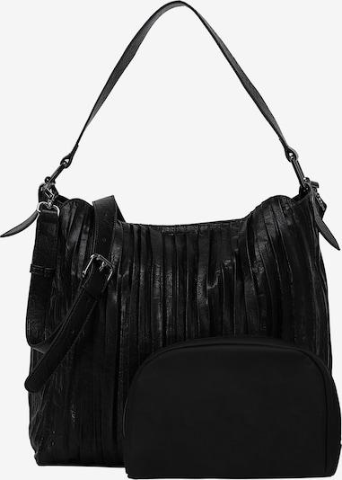 Ekonika Handtas in de kleur Zwart, Productweergave