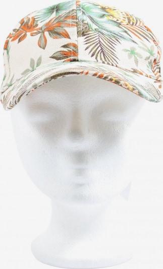 Hucke Berlin Basecap in XS-XL in grün / hellorange / weiß, Produktansicht
