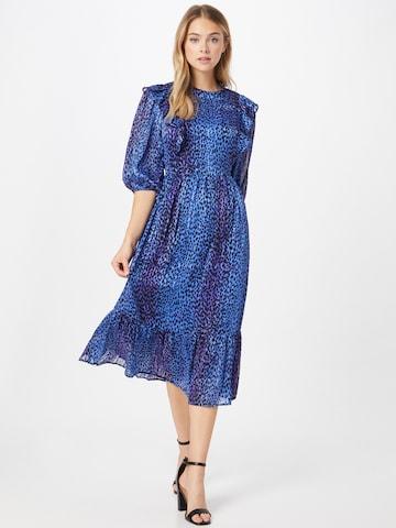 Lollys Laundry Mekko 'Cana' värissä sininen
