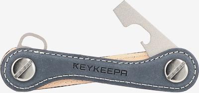 Keykeepa Schlüsselmanager  'Leather' in blau, Produktansicht