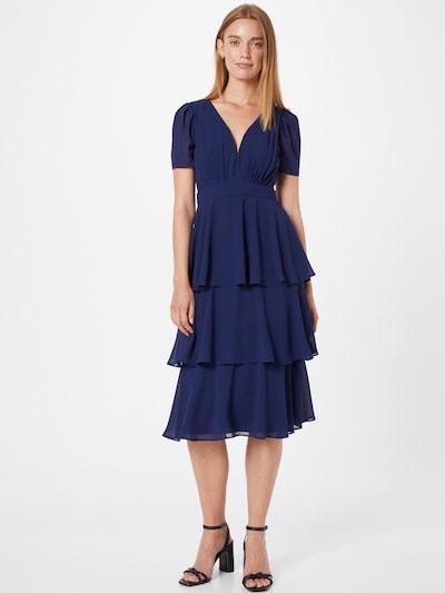 Rochie de cocktail 'EMBER' TFNC pe bleumarin, Vizualizare model