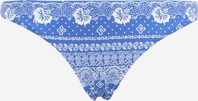 POLO RALPH LAUREN Bas de bikini en bleu / blanc, Vue avec produit