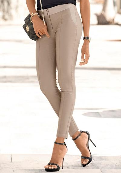LASCANA Hose in hellbeige, Modelansicht