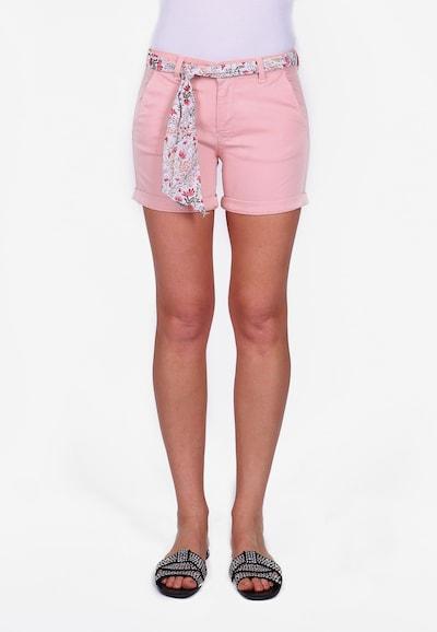 Le Temps Des Cerises Shorts LIVE2 im sommerlichen Look in rosa, Modelansicht