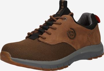 Sneaker bassa 'Pampa' di bugatti in marrone