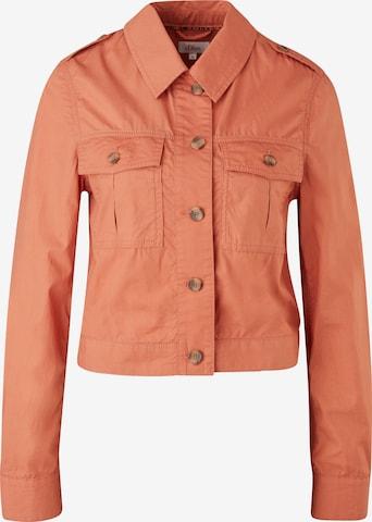 s.Oliver Between-Season Jacket in Orange