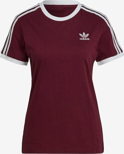 ADIDAS ORIGINALS Shirt in Dark red / White, Item view