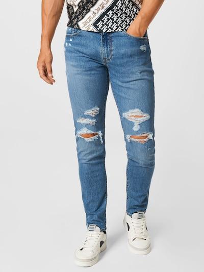 LEVI'S Jeans '512' in blue denim, Modelansicht