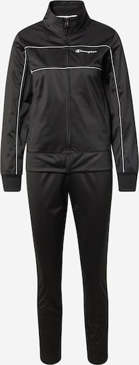 Champion Authentic Athletic Apparel Sports Suit in Black / White, Item view