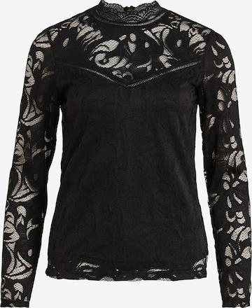 VILA Shirt 'Vistasia' in Schwarz
