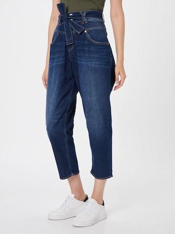 Herrlicher Bandplooi jeans 'Kabira' in Blauw