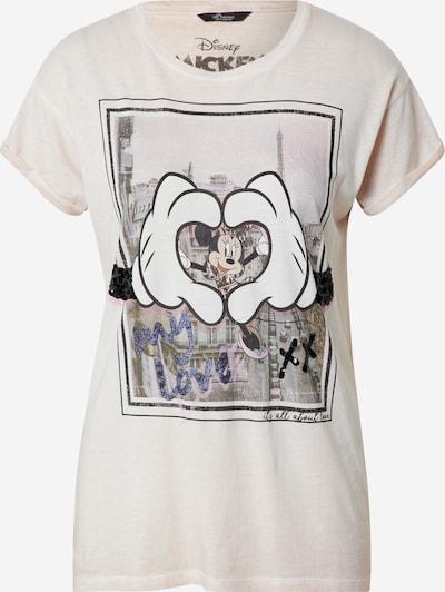 PRINCESS GOES HOLLYWOOD Majica 'Disney Minnie Paris' u antracit siva / pastelno roza / bijela, Pregled proizvoda