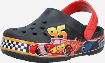 melns Crocs Vaļējas kurpes 'Pixar Cars'