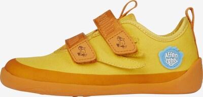 Affenzahn Barfußschuh in gelb / orange, Produktansicht