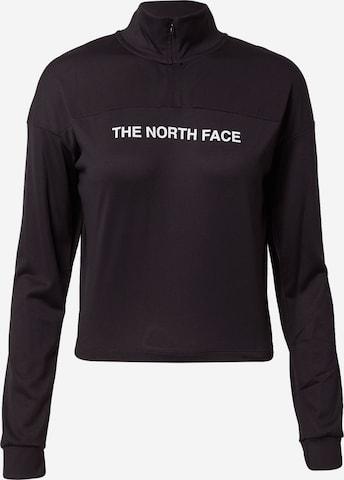 THE NORTH FACE Αθλητική μπλούζα φούτερ σε μαύρο