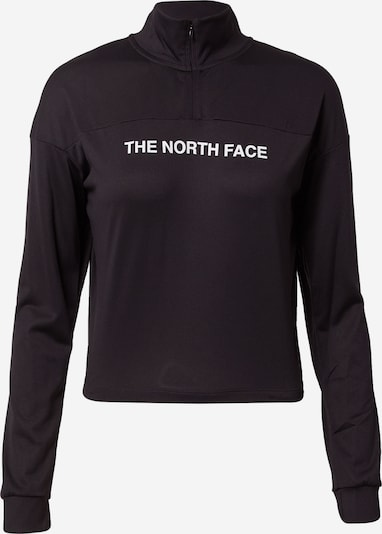 THE NORTH FACE Athletic Sweatshirt in Black / White, Item view