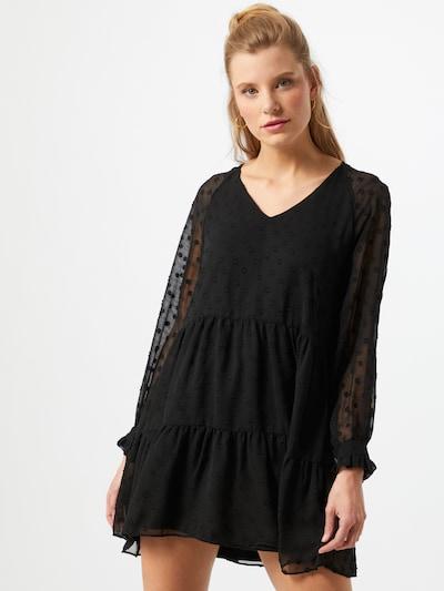 Pieces (Petite) Kleid 'NUTSI' in schwarz, Modelansicht